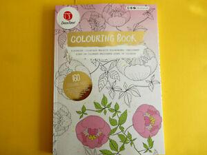 Malbuch für Erwachsene Tiere,Blumen & co ca 30x21cm 160 Vorlagen #8