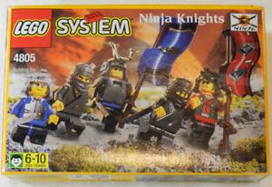 Vintage 1999 LEGO System 4805 Ninja Knights 26pcs NIB New Factory Sealed