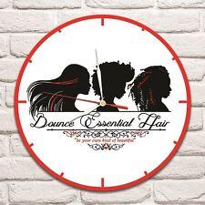 Reloj De Pared diseño de color de diseño de pelo esenciales de rebote Vinyl Record Arte Salon 2