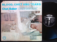 CHET BAKER Blood, Chet And Tears LP VERVE V6-8798 Orig US 1970 JAZZ Joe Pass