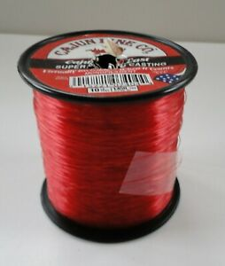 CAJUN LINE RED 10 Lb Test 1450 Yards Fishing Line USED