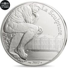 EUR, France, Monnaie de Paris, 10 Euro, Auguste Rodin, 2017, FDC, Argent #481531