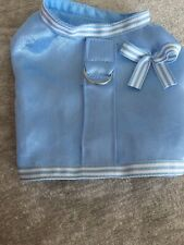 XS Pale Blue Satin Harness for Chihuahua or Puppy