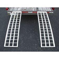 Aluminum Trailer Ramps - Mfg In The USA - 5ft.L x 12in W 5,000 lb Cap. Per Pair