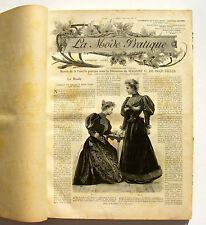 Album relié La Mode Pratique - Année 1894 complet - Reliure Editeur -