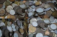 Kiloware Weltmünzen nur alte bis 1950 aus vielen verschiedenen Ländern - 2 Kilo
