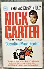 Nick Carter / OPERATION MOON ROCKET First Edition 1968