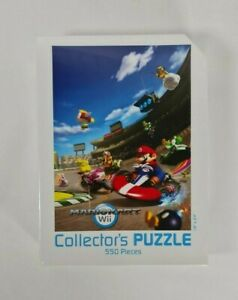New - Nintendo Wii Mario Kart Collector's Jigsaw Puzzle 550 Pieces USAopoly