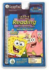 Leap Frog LeapPad 2: Reading, Sponge Bob Sea Stories Grades 1-3 Age 6-8 NEW.