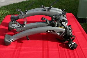 SARIS BONES 2 bike TRUNK MOUNT BIKE RACK universal fit WONT RUST Ex+++