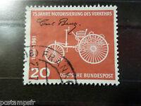 ALLEMAGNE FEDERALE RFA 1961 GERMANY, TP 236 VOITURE BENZ, oblitéré USED STAMP