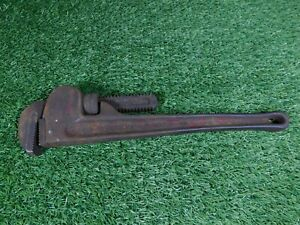 Vintage Record Leader 18 Inch Adjustable Pipe Stilson Wrench