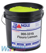 Triangle Ink 900-3310 Flouro Lemon screen printing plastisol ink 1 Quart (946ml)