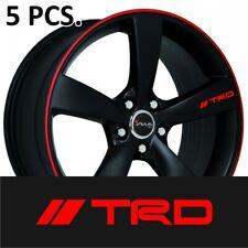 5pcs+1 gift Sticker Toyota TRD Door Handle Wheel Tacoma Tundra