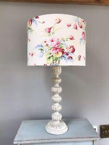 Handmade Drum Lampshade Cath Kidston - Faded Flowers Fabric