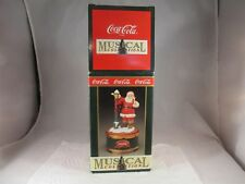 """Coca Cola Musical Collection Santa With Lamp """"Walking In The Winter Wonderland"""""""