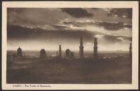 Egypt. Cairo. The Tombs of Mamelouks. Unused Vintage Printed Postcard