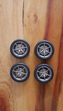 AUTOartt Nissan Skyline R34 GTR Wheels & Tires Set 1:18 Scale