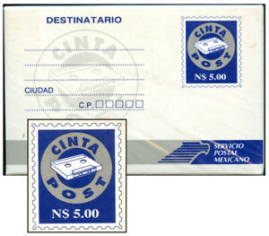 MEXICO 1995? N$5.00 CASSETTE MAILER SEALED COMPLETE CP1