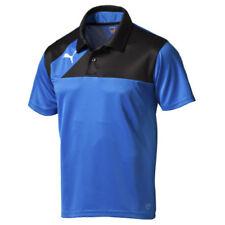 PUMA Esquadra Team Polo Shirts Mens Football Rugby Sports Track Casual Tops