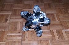 OS Max Sirius FR5-300 5 CILINDRI 50cc 4 tempi motore rotativo radiale RC VINTAGE!