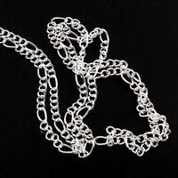 3 Meter Gliederkette Link Kette Metallkette 10mm Silber Chain Halsketten K14