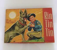 Rin Tin Tin - RARO GIOCO DA TAVOLO, NUOVO E COMPLETO - NORIS 1961