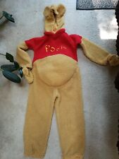 Winnie the Pooh Disney Full Body Speaking Halloween Costume Size 8/10