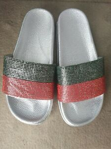 Lady Rubber Slippers Size 6
