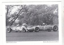 "*Postcard-""The 1960's Formula Cars""...*Mazda Raceway Laguna Seca (#87)"