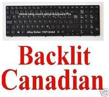 Keyboard for SONY SVE151C11L SVE151D11L SVE151G11L - Black Frame - CA - Backlit