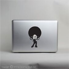 Afro Girl apple macbook pro skin vinyl decal sticker