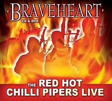 RED HOT CHILLI PIPERS BRAVEHEART CD / DVD - NEW RELEASE 2012