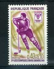 FRANCE 1968 timbre 1544, Jeux Olympiques hockey, neuf**