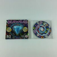 Bejeweled Deluxe PC CD ROM PopCap Games 2005 game for Windows 98/Me/2000/XP
