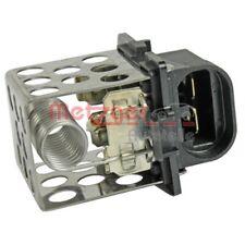 1 Resistencia en serie, electromotor de ventilador METZGER 0917329 OPEL RENAULT