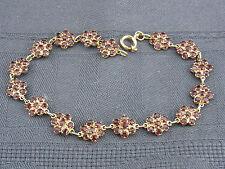 schönes altes Armband Gold 333/- Granat ca.60er Jahre