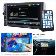 "12V 7"" HD 2-Din Car SUV In-Dash Bluetooth Stereo MP3 Player GPS Navigation 7021G"