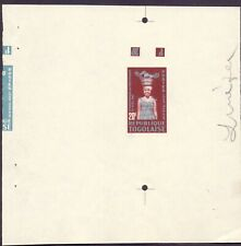 1.161.TOGO,1962 INDEPENDENCE,COLOUR PROOF FOR SC.425,423,427 WITH GUM,MNH,WOMAN