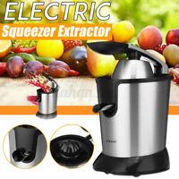 Citrus Juicer Fruit Press Machine Electric Orange Stainless Squeeze