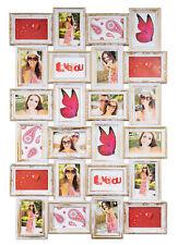 Marco Oro Blanco 24 Fotos Barroco Marco Fotos Collage Galería galería de fotos