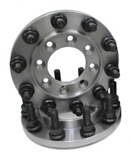 STEEL 22.5 SEMI WHEEL 8 TO 10 LUG DUALLY ADAPTER REAR ONLY