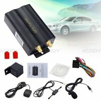 Mini TK103A Car Van Vehicle GPS SMS GPRS Tracker Tracking Device System