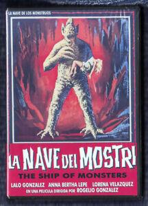 SHIP OF MONSTERS (1960) LA NAVE DE LOS MONSTRUOS Mex Horror w/ English subs