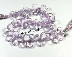 3 mm Natural Gemstone Beads Pink Amethyst Beads Mini Faceted Rondelle Beads