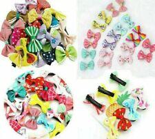 40 Kids, cute Baby, Girls, Dolls Hair Clip Alligator clips Mini variety Bows