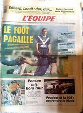 L'Equipe Journal 19/6/1991; Le Foot en Pagaille/ Euro; Feu vert pour Rigaudeau