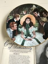 Gone With the Wind: Golden Anniversary Series. Fine china plates.