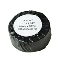 """3750 Labels For DYMO 30347 Book Spine LW 300, 315, 320, 330 ACII 200 1"""" x 1-1/2"""""""