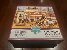 Charles Wysocki Timberline Jacks 1000 PC Puzzle Used Bagged Buffalo Games